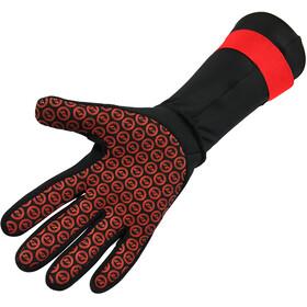 Zone3 Neoprene Zwemhandschoenen, black/red